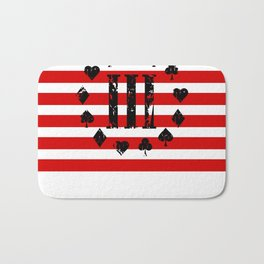 Three Percenter Aces USA Flag Bath Mat