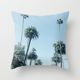 Look Up It's Palms Throw Pillow