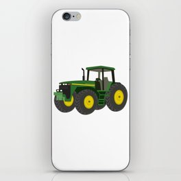 Green Farm Tractor iPhone Skin