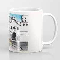 philippines Mugs featuring Philippines : Carriedo Fountain by Ryan Sumo