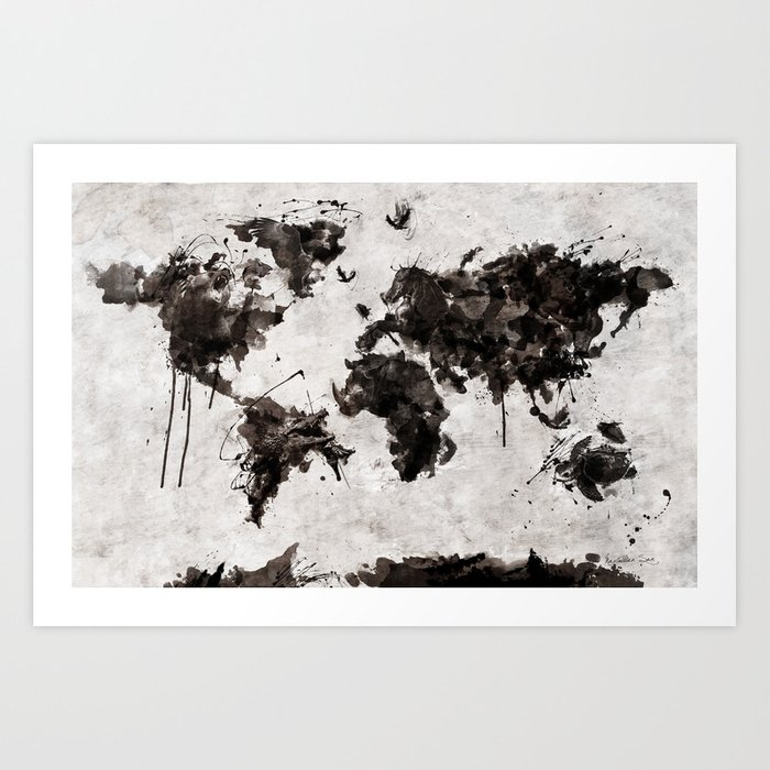 Wild World Abstract Top