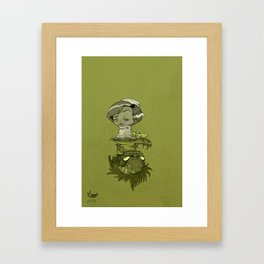 contraction Framed Art Print