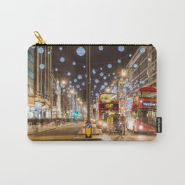 Christmas in London Carry-All Pouch