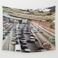 cars Wall Tapestries featuring cars by danielrcart