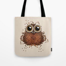 Coffee Bean Beans owl Tote Bag