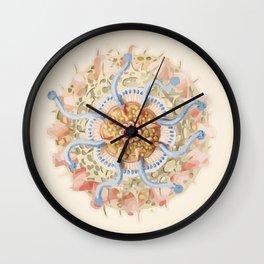 Ernst Haeckel Revisited Wall Clock