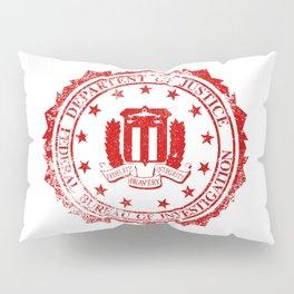 FBI Rubber Stamp Pillow Sham