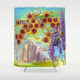 Gaia Heals Shower Curtain