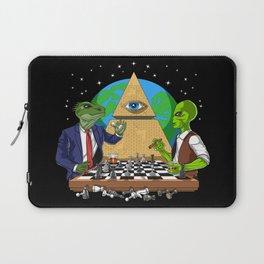 Alien Illuminati Conspiracy Laptop Sleeve