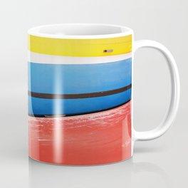 GRAND RESORT SERIES. Boats, Piran, Mediterranean Sea, Color Film Photo Coffee Mug