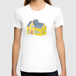 Little Yellow House with a Big Porch T-shirt