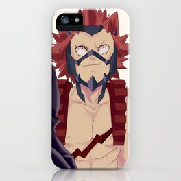Kirishima Screenshot re-paint iPhone Case
