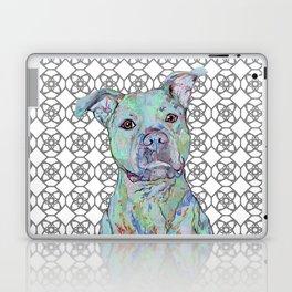 Staffy Portrait Laptop & iPad Skin