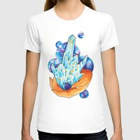 crystals T-shirts featuring Crystals by missfortunetattoo