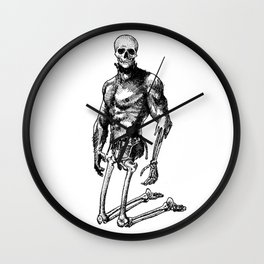 Pietro 2 - Nood Dood Spooky Booty Wall Clock