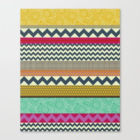 New York Beauty stripe Canvas Print