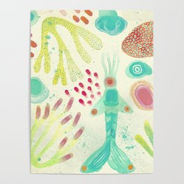 Vida Aquatica No. 4 Poster