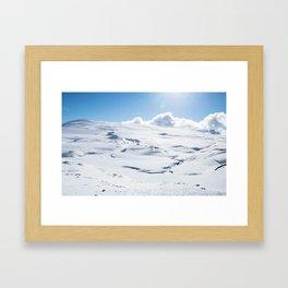 Hardangervidda Framed Art Print
