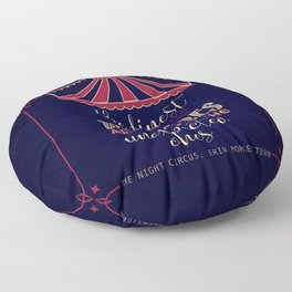 The night circus - Erin Morgenstern Floor Pillow