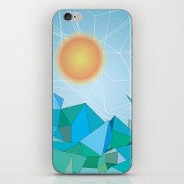 Landscape - geomertic work iPhone Skin