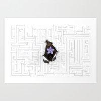 MIND TRICK Art Print