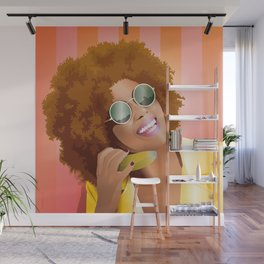 """Emily - """"Hello, is it me you're looking for?"""" Wall Mural"""