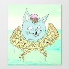 PIZZACAT I Canvas Print