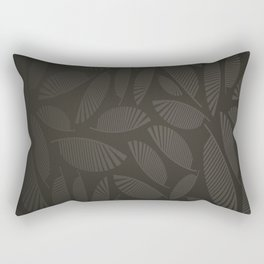 Pattern, black& white Rectangular Pillow