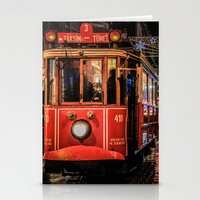 istanbul Stationery Cards featuring Istanbul by Seza Kaymak