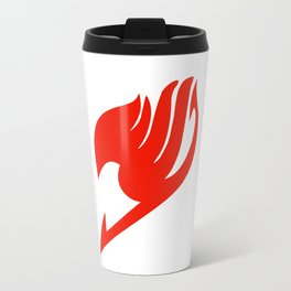Fairy Tail Red Logo Travel Mug