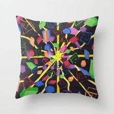 On edge #2 #watercolor #art #society6 Throw Pillow