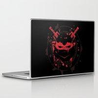 ninja turtle Laptop & iPad Skins featuring Raphael Turtle by Sitchko Igor