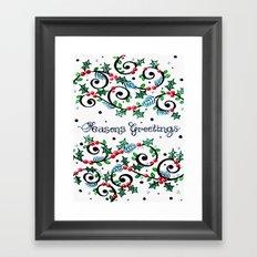 CWG Christmas Framed Art Print