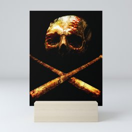 Baseball Or Death Mini Art Print