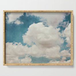 January Clouds Serving Tray