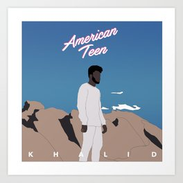 Khalid American Teen Art Print