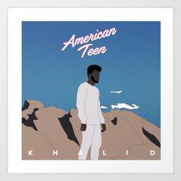 Khalid American Teen Kunstdrucke