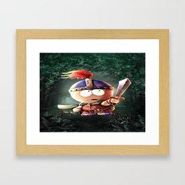Viking Stan Framed Art Print