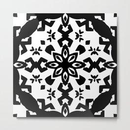 Callisto III (White) Metal Print