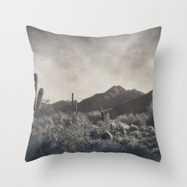 McDowell Mountains, Arizona Throw Pillow