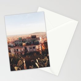 View from Parc Guell, Barcelona Stationery Cards