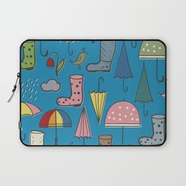 umbrellas and boots Laptop Sleeve
