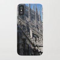 milan iPhone & iPod Cases featuring Milan Duomo by Melinda Zoephel