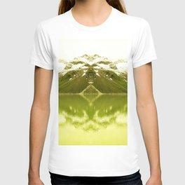 Mountain lake tranquility T-shirt
