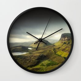 Up in the Clouds VII Wall Clock