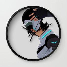 Black Paladin Wall Clock
