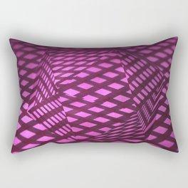 Pink viewpoint Rectangular Pillow
