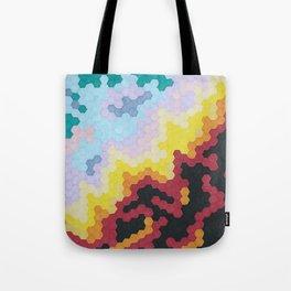 Nebula Hex Tote Bag