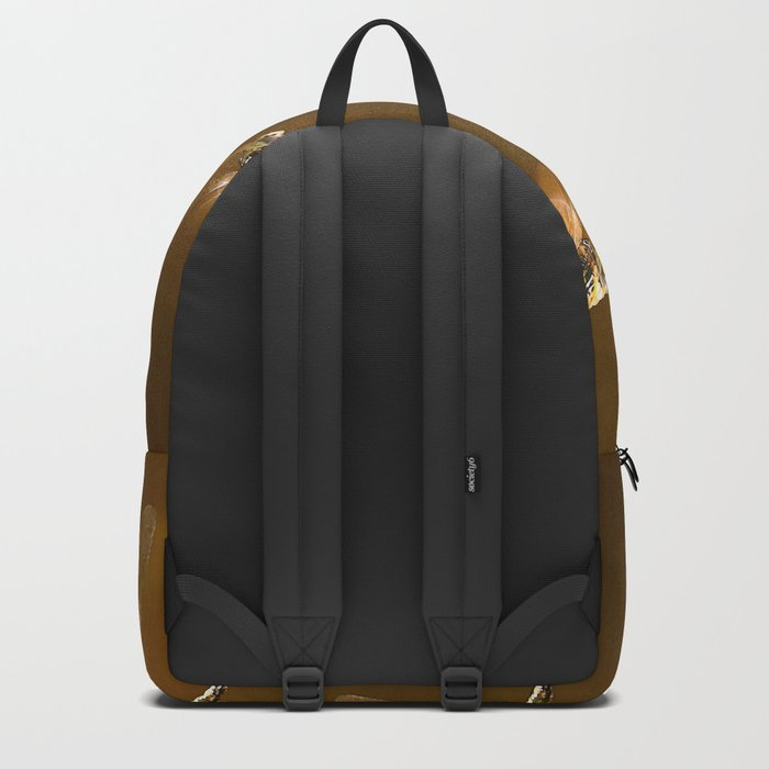 Shiny Dragonflies on the lake Backpack