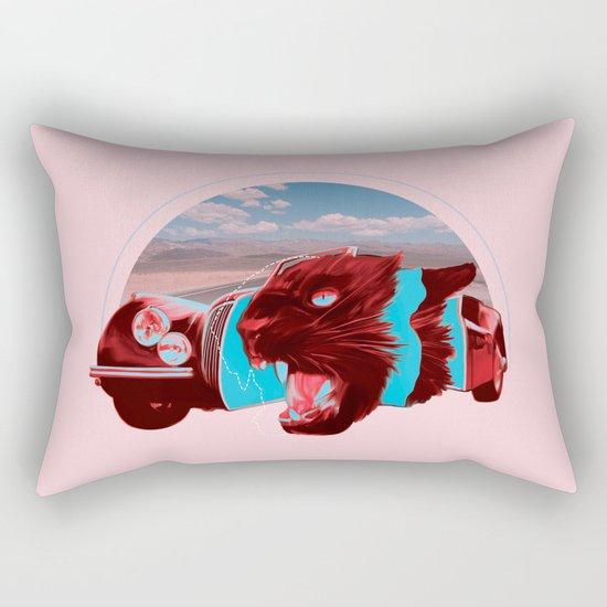 Jaguar Cross Section Rectangular Pillow